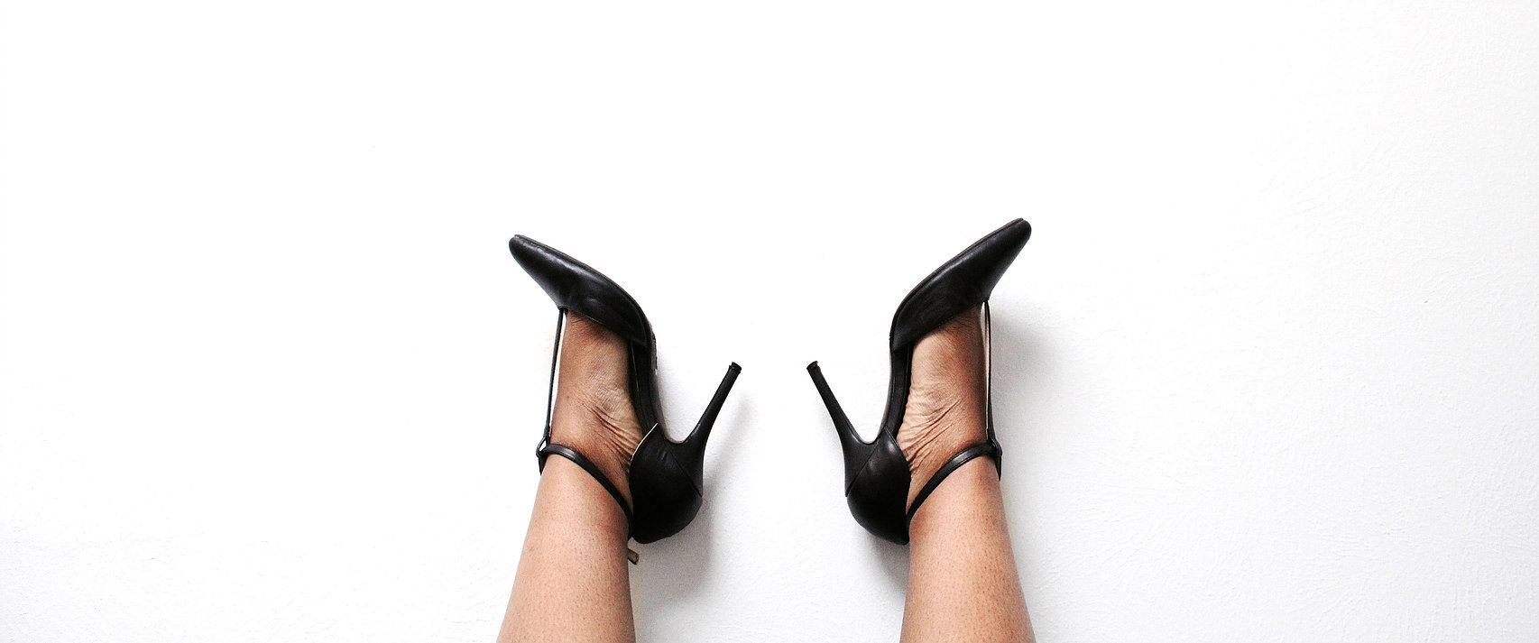 Overnight Essentials black pumps