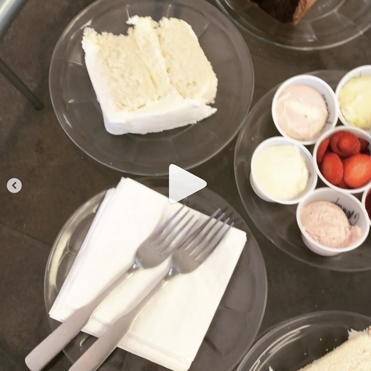 Blake McNamara-Dallas Affaires wedding cake